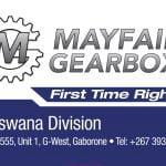 Mayfair Gearbox Botswana